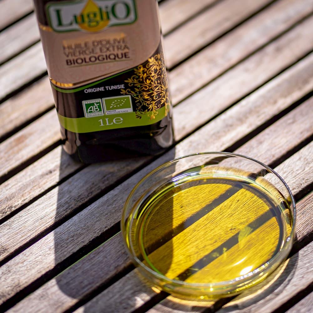 """ BIO LugliO"" natives Bio Olivenöl extra - Tunesien"