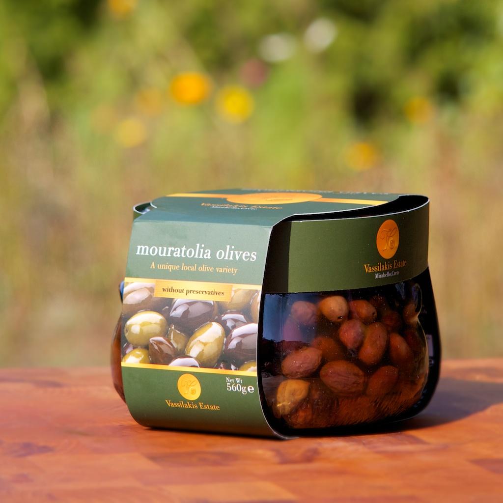 Mouratolia Oliven handgepflückt -mariniert nach altem kretischen Familienrezept