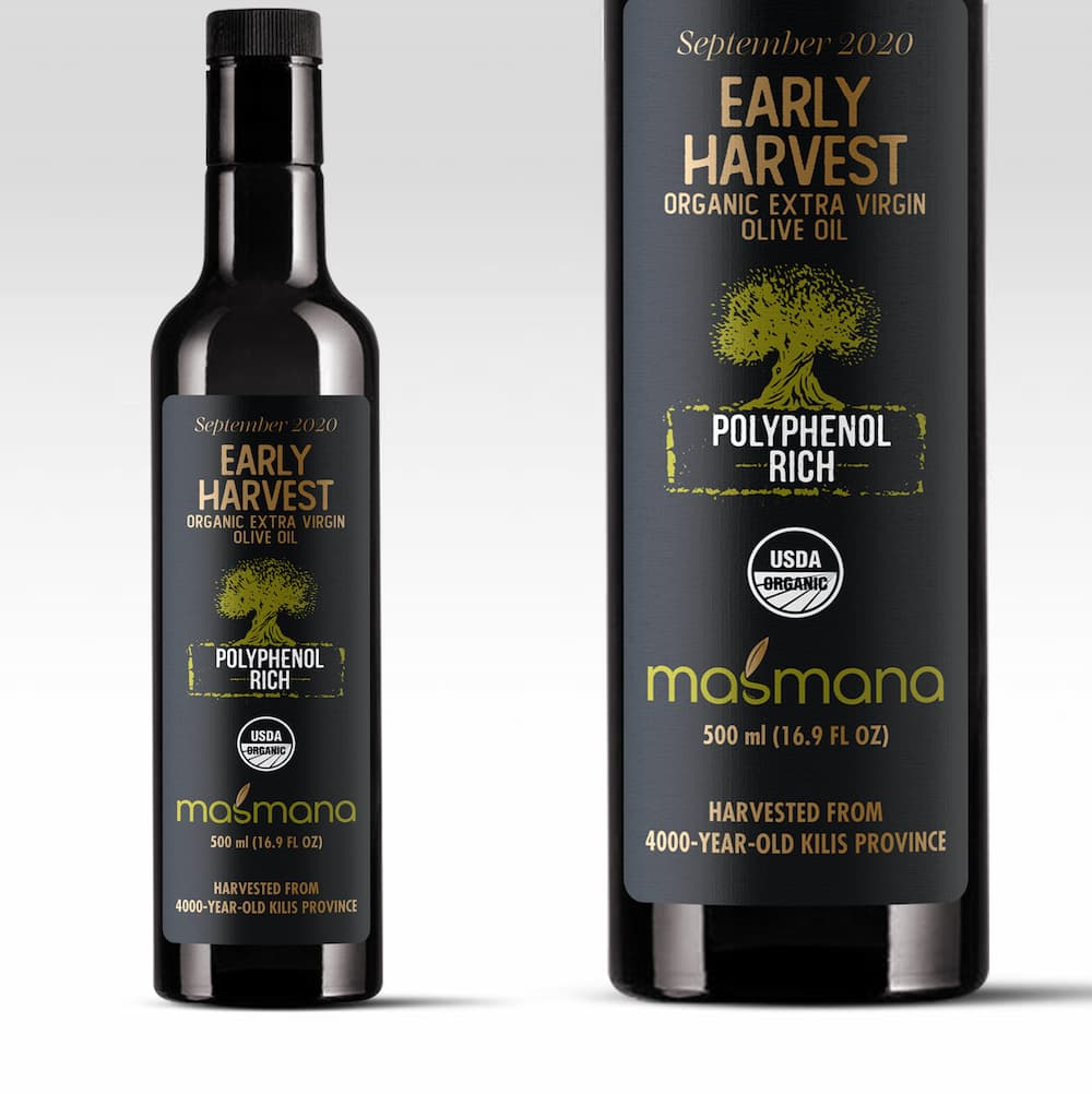 """ Masmana Early Harvest"" natives Bio Olivenöl extra - Türkei"