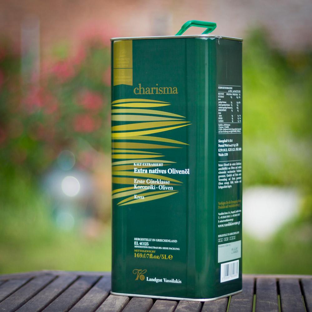 """Natives Olivenöl extra """"charisma""""  aus Kreta - 10 Auszeichnungen"""