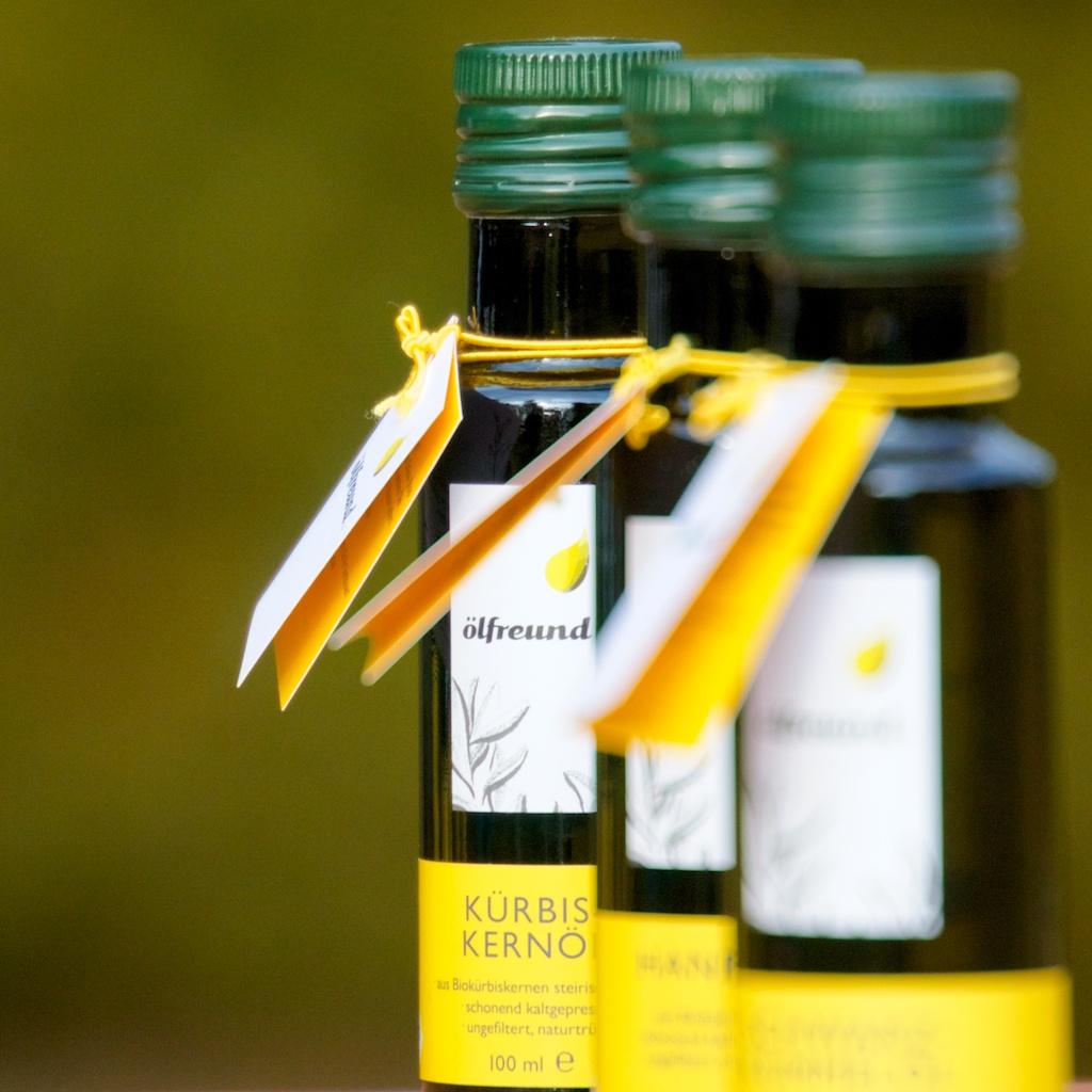 Bio Kürbiskernöl kaltgepresst nativ