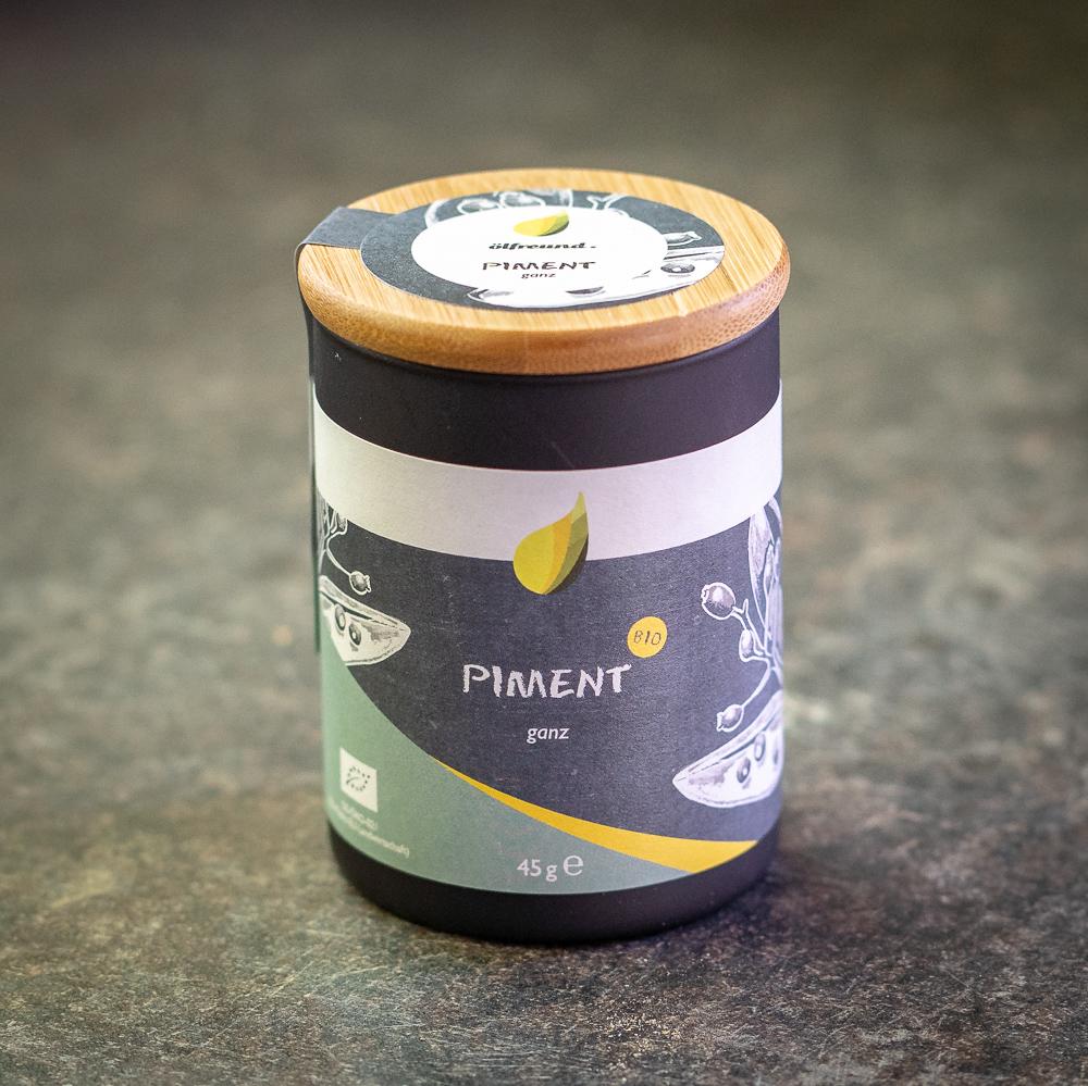 Piment (ganz) BIO