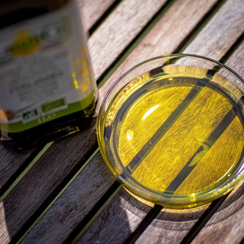 """BIO LugliO"" natives Bio Olivenöl extra - Italien Apulien"