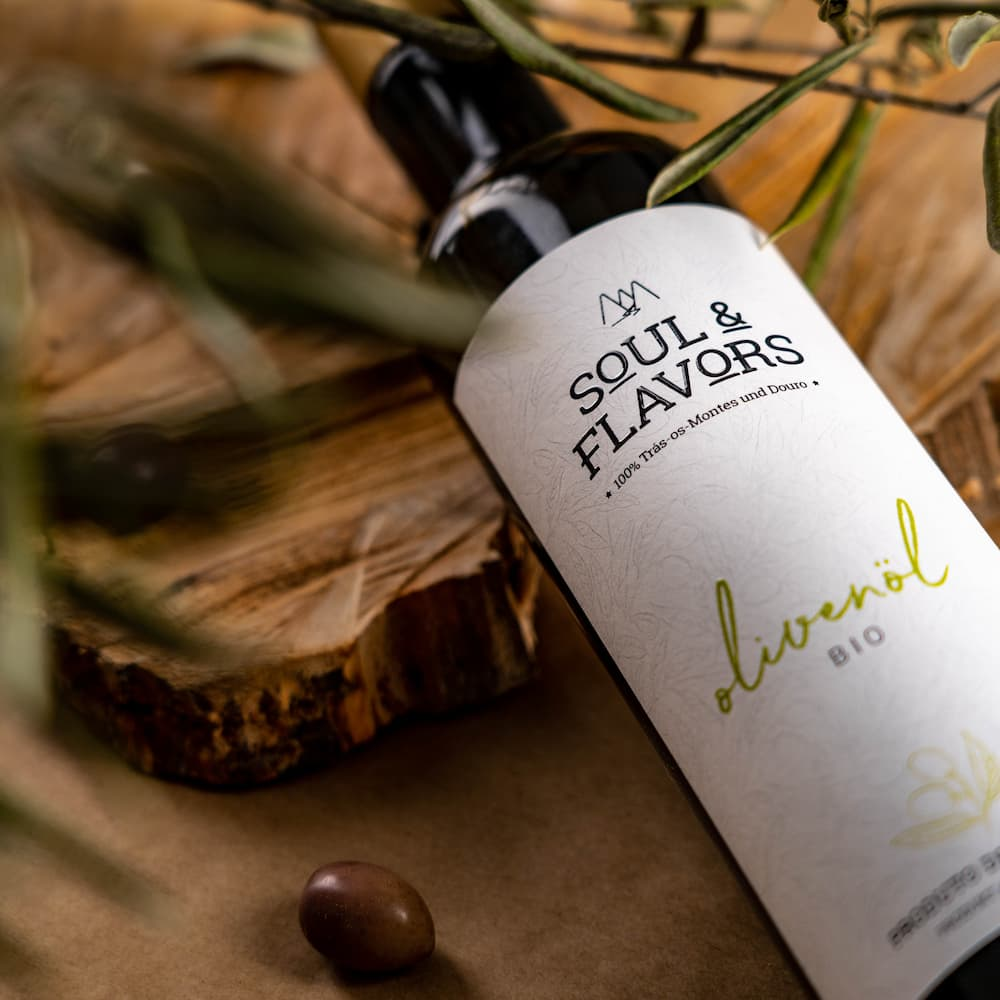 """Soul & Flavors"" BIO natives Olivenöl extra - Portugal"