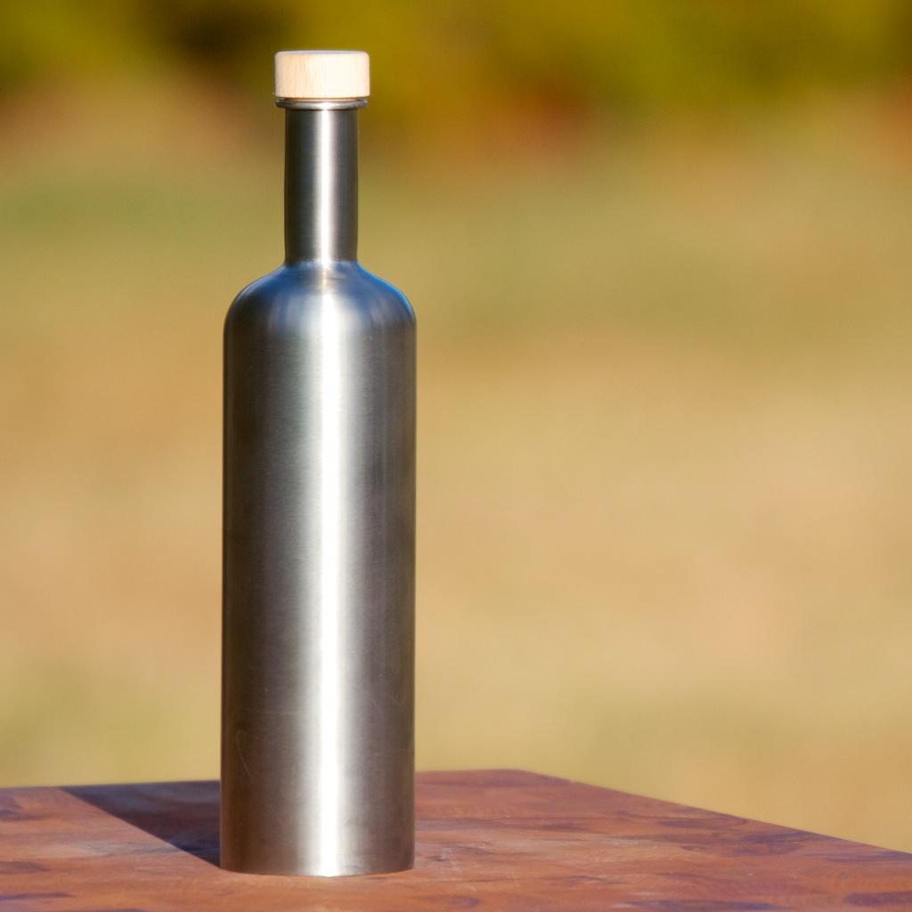 ölfreund Ölflasche aus Edelstahl