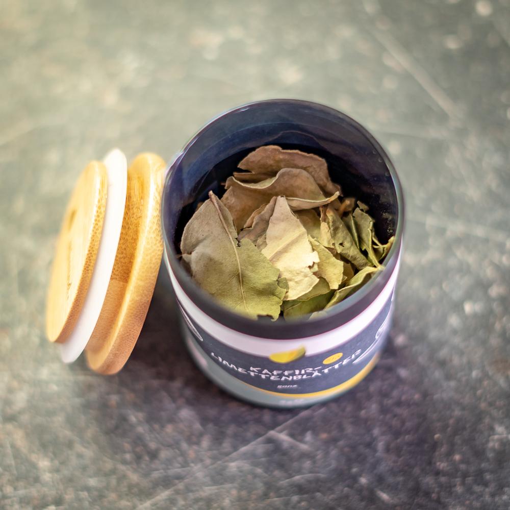 Kaffirlimettenblätter (ganz) BIO