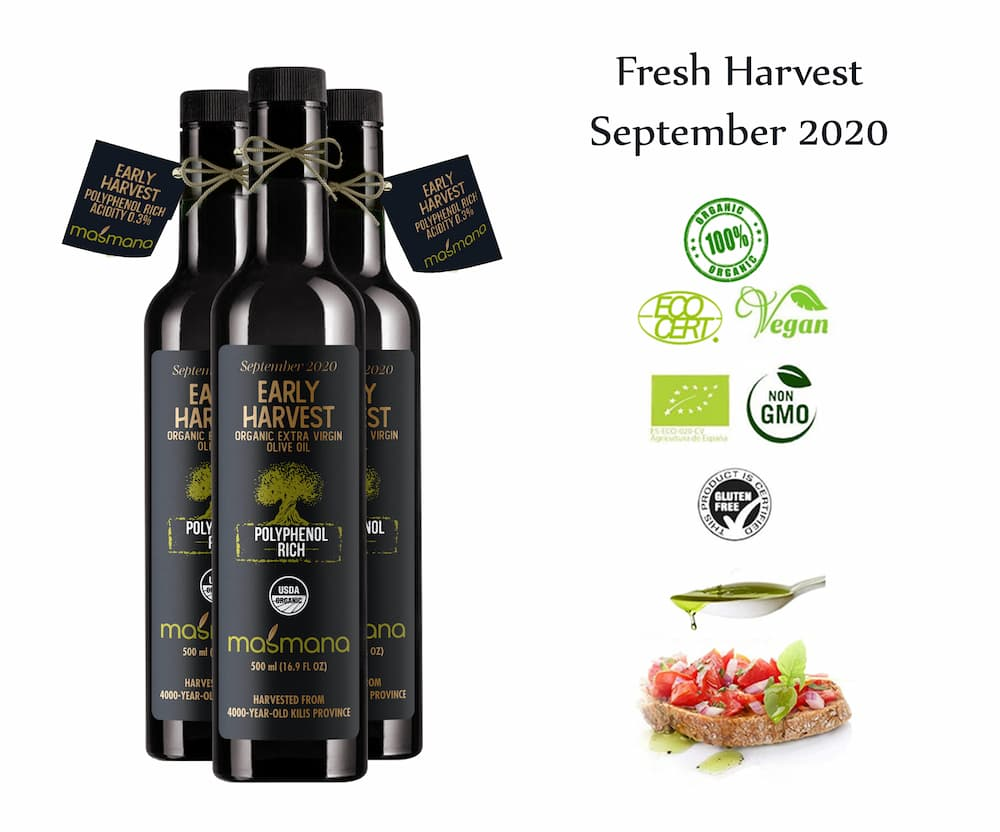 """ Masmana Early Harvest"" BIO natives Olivenöl extra - Türkei"