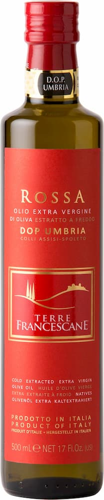 Rossa natives Olivenöl extra - DOP Umbria Italien